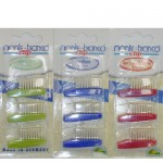 Natural Bristle Replacement Toothbrush Heads Medium