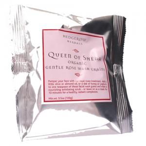 Queen of Sheba Gentle Rose Wash Grains