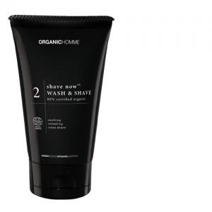 Organic Homme Wash & Shave Gel