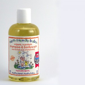 earth fiendly baby shampoo in mandarin
