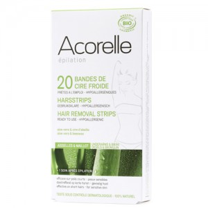 Acorelle Underarm and Bikini Waxing Strips