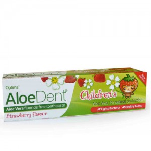 Aloe Dent Children's Strawberry Toothpaste