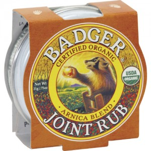 Badger Joint Rub Balm