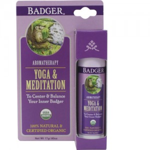 Badger Yoga & Meditation Aromatherapy Balm