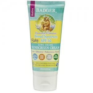 Badger Baby Sunscreen SPF30