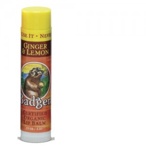 Badger Balm Ginger & Lemon Badger Lip Balm Stick