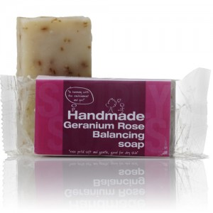 Handmade Soap Balancing Geranium