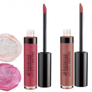 Benecos Natural Lipgloss in 6 shades