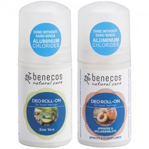 Benecos Deodorant Roll On (in 2 Fragrances)