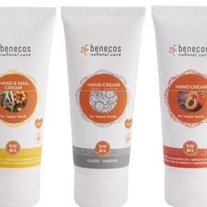 Benecos Hand Cream in 3 fragrances