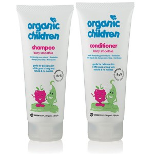 Organic Children Berry Smoothie Shampoo + Conditioner Bundle