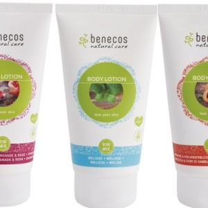 Benecos Body Lotion in 5 fragrances