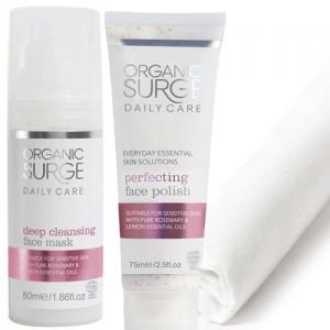 Organic Surge Skincare Routine Booster Kit