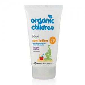 Green People SPF 30 for kids with Lavender