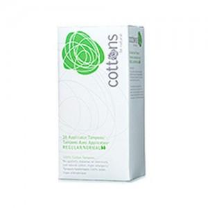 Cottons Applicator Tampons (Regular)