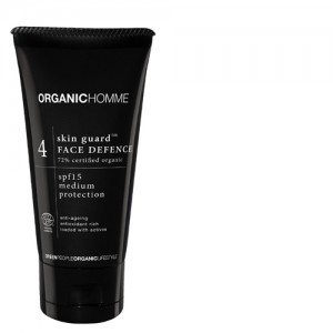 Organic Homme Face Defence Lotion SPF15
