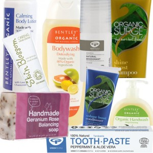 9 items including: Toothpaste, Deodorant, Shower Gel, Shampoo, Body Lotion, Hand Wash, Conditioner, Hand Cream, & Soap