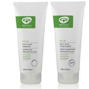 Green People Daily Aloe Shampoo + Conditioner Bundle