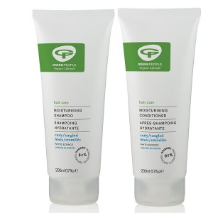 Green People Moisturising Shampoo + Conditioner Bundle