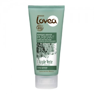 Lovea Green Clay Organic Face Mask