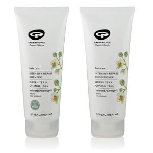 Green People Intensive Repair Shampoo + Conditioner Bundle