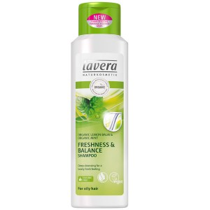 Lavera Freshness & Balance Shampoo for oily hair