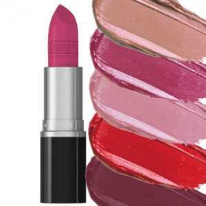 Lavera Beautiful Lips Colour Intense Lipstick is available in 21 up to the minute shades