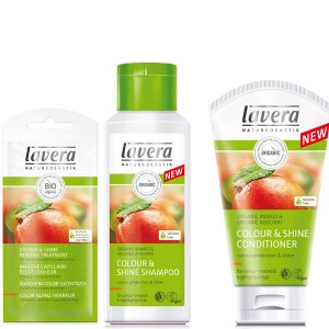 Lavera Mango Colour and Shine Bundle for Coloured & Highlighted Hair