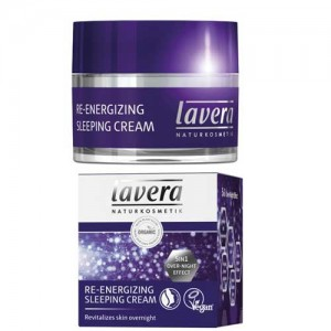Lavera Re-Energising Sleeping Cream - revitalises skin overnight