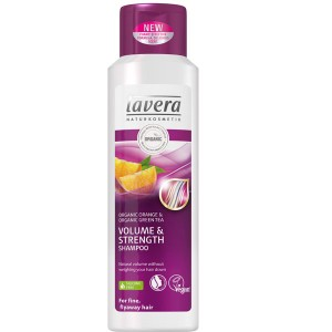 Lavera Volume & Strength Organic Shampoo for fine hair
