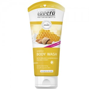 Lavera Gentle Honey & Almond Body Wash