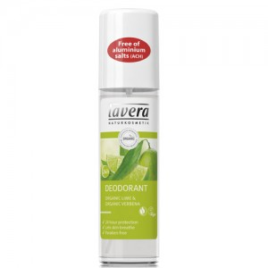 Lavera Lime Organic Deodorant Spray