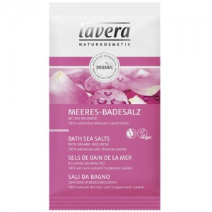 Lavera Pampering Rose Bath Sea Salts