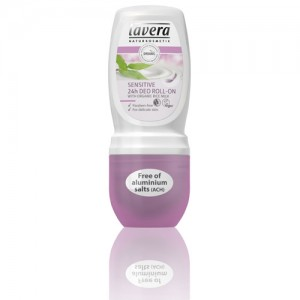 Lavera Sensitive 24H Roll On Organic Deodorant