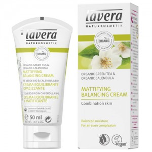 Lavera Mattifying Balancing Cream - new look for 2016