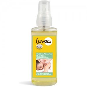 Lovea Relaxing Organic Massage Oil