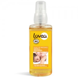 Lovea Sensual Organic Massage Oil