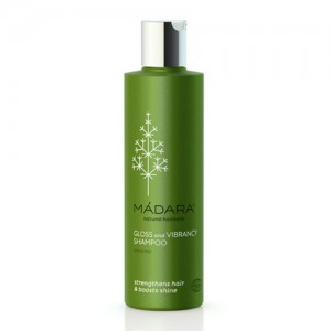 Madara Gloss & Vibrancy Organic Shampoo - strengthens hair and boosts shine