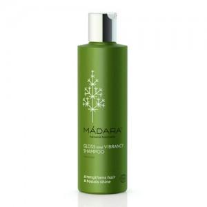 Madara Gloss & Vibrancy Organic Shampoo - strengthens hair and boosts shine