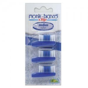 Nylon Bristle Tooth Brush Heads Medium