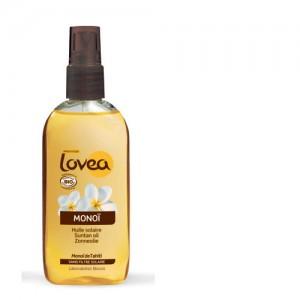 Lovea Organic Monoi Tanning Oil SPF 0