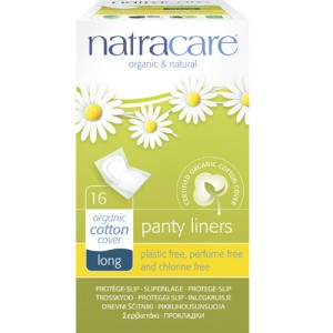 Natracare Wrapped Panty Liners - Long