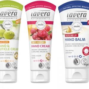 Lavera Hand Cream Range