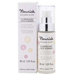 Nourish Golden Glow Illuminating Face Shimmer