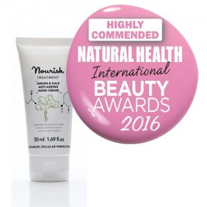 Nourish Argan & Kale Anti Ageing Hand Cream