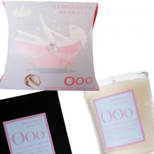 Ooo for Romance Bath Tea & Candle Gift