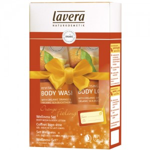 Lavera Orange Christmas Gift Set