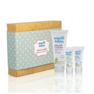 Organic Babies Hello Baby Boy Gift Set