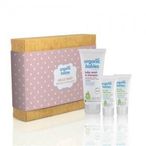 Organic Babies Hello Baby Girl Gift Set