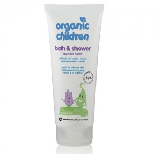 Organic Children Bath & Shower Lavender
